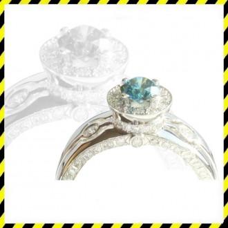 Эксклюзивное золотое кольцо Queen с бриллиантами 1,17 карат! Идеал.. Днепр. фото 1