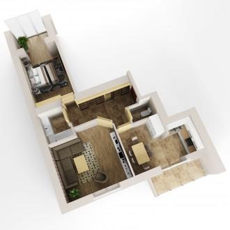 На четвертому (третьому і на пятому) поверсі другого пускового комплексу причаїл. Обухов, Киевская область. фото 4