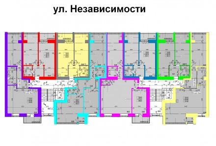 Внимание! Рассрочка от Застройщика!  Продажа квартир с автономным отоплением в. Масаны, Чернигов, Черниговская область. фото 9