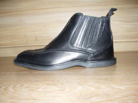 Продам новые кожаные мужские ботинки CAMEL ACTIVE размер 6,5. Днепр. фото 1