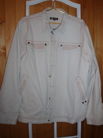 Продам новую мужскую х.б. куртку (ветровку) MONTON XXL р. Днепр. фото 1