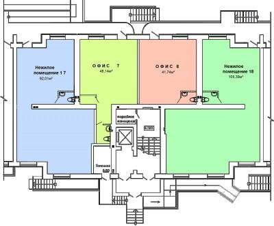 В продаже коммерческие помещения в новом кирпичном доме, от 39 кв.м до 105 кв.м . Селище Котовського, Одеса, Одеська область. фото 2