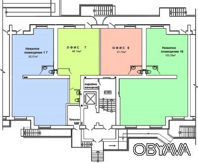 В продаже коммерческие помещения в новом кирпичном доме, от 39 кв.м до 105 кв.м . Селище Котовського, Одеса, Одеська область. фото 1