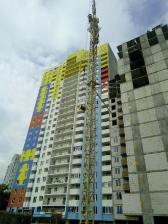 Продаю квартиру-студію у новобудові,на стадії будівництва,збудовано 20поверхів, . Киев, Киевская область. фото 4