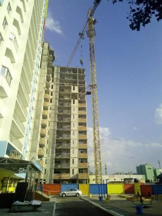 Продаю квартиру-студію у новобудові,на стадії будівництва,збудовано 20поверхів, . Киев, Киевская область. фото 3