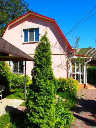Продам дом с дизайнерским ремонтом, мебелью и техникой. Есть капитальный гараж и. Ірпінь, Київська область. фото 12