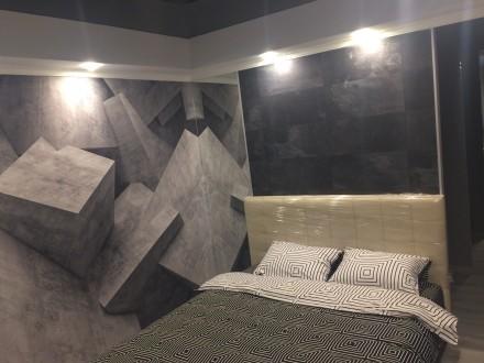 2к квартира класса -ЛЮКС, в новом доме, 80 кв.м, дизайнерский проект, отличный р. Жовтневий, Маріуполь, Донецька область. фото 10
