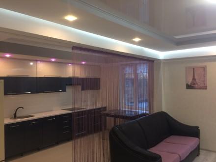 2к квартира класса -ЛЮКС, в новом доме, 80 кв.м, дизайнерский проект, отличный р. Жовтневий, Маріуполь, Донецька область. фото 9