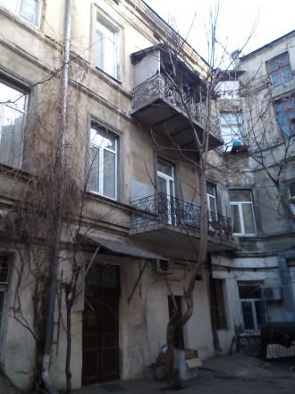 """Большая комната сбалконом - приморский - """"недвижимость одесс."""