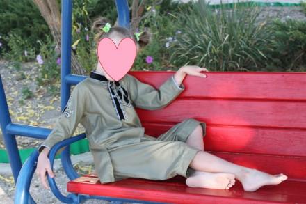 Стильный костюм на 5-6 лет. Запорожье. фото 1