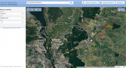 Продажа земельного участка Киевская область,Броварской район, с.Красиловка ,495. Красиловка, Киевская область. фото 2