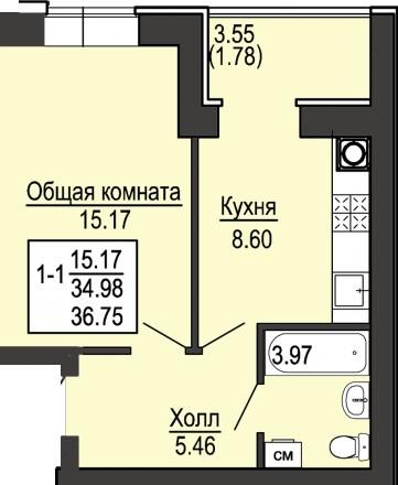 Новая квартира от застройщика Дом вводится в эксплуатацию 2 квартал 2018 года (. Святошино, Київ, Київська область. фото 6
