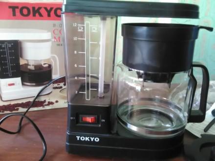 Кофеварка TOKYO новая. Мариуполь. фото 1