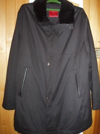 Продам новое мужское пальто(куртка) EMILIO GUIDO 56 р. Днепр. фото 1