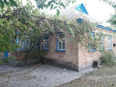 Продам дом, с. Мошны, ул. Комсомольская, дом 9*14, ракушняк, обложен кирпичем, т. Мошни, Черкаська область. фото 1
