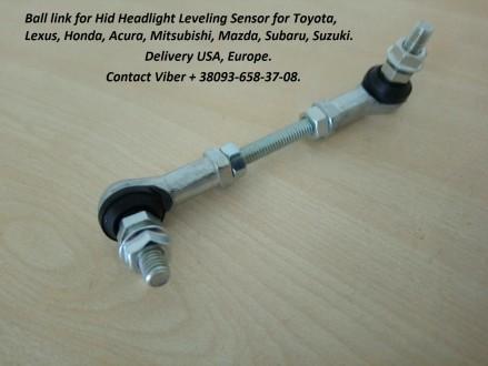 We offer Link Height control sensor, HeadLamp Level sensor Link. The headlights. Бровары, Киевская область. фото 4