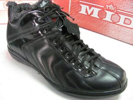 Ботинки мужские МИДА натур кожа 43 раз 409. Верхнеднепровск. фото 1