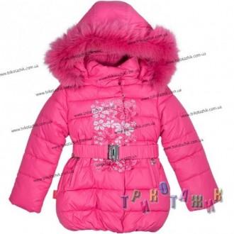 Пальто для девочки м. 1705. Хмельницкий. фото 1