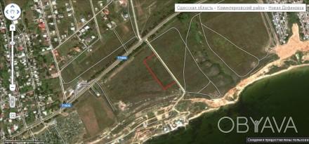 Продаются два смежных участка общей площадью 1,2 Га. Есть гос. акты, присвоены к. Одеса, Одеська область. фото 1
