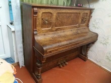 Старинное пианино. Харьков. фото 1