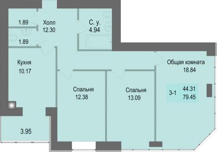 Новая квартира от застройщика Дома введены в эксплуатацию (подключены все комму. Святошино, Київ, Київська область. фото 13