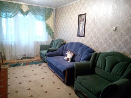 Комфортная квартира на 6спальных мест. Укомплектована розкладной мебелью быт. те. Кривий Ріг, Дніпропетровська область. фото 2