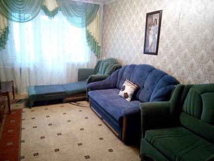 Комфортная квартира на 6спальных мест. Укомплектована розкладной мебелью быт. те. Кривий Ріг, Дніпропетровська область. фото 7