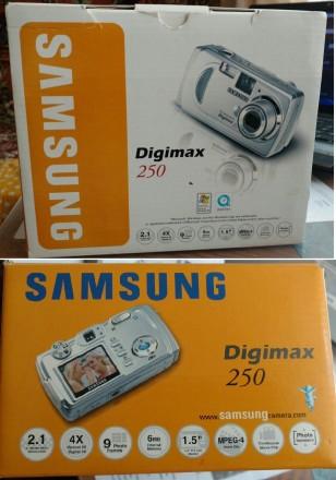 Фотоаппарат Samsung Digimax 250. Запорожье. фото 1
