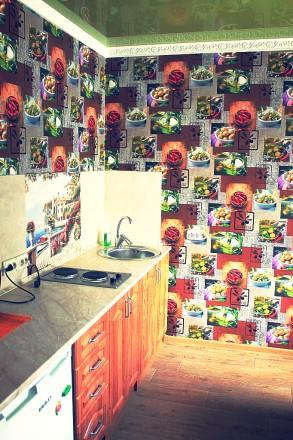 Эксклюзивный вариант. Посуточно. 1-2 комнатные квартиры в тихом, зелёном уголке . Центр, Краматорськ, Донецька область. фото 7
