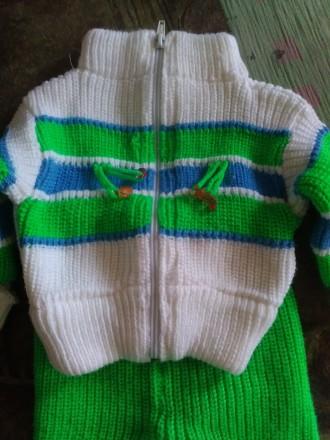 Теплый детский костюмчик. Изюм. фото 1