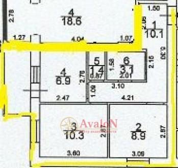 В продаже 2-х комнатная квартира в новом, кирпичном доме! Дом сдан,заселен. Квар. Малиновський, Одеса, Одеська область. фото 5