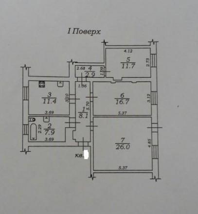 Купите! трех комнатная квартира на Некрасова пер. КОД- 957181. Вы хотите изменит. Приморський, Одеса, Одеська область. фото 3