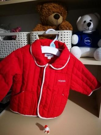 Стильная демисезонная куртка итальянской фирмы mignolo. Кропивницкий. фото 1