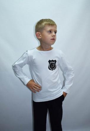 Рубашка-реглан в школу!. Нововолынск. фото 1