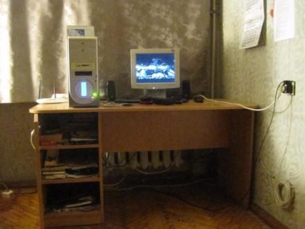 Стол новый большой, удобный для учебы или работы ( компьютер, принтер и т.д.), с. Одесса, Одесская область. фото 2