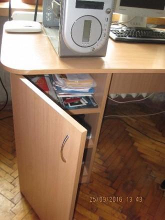 Стол новый большой, удобный для учебы или работы ( компьютер, принтер и т.д.), с. Одесса, Одесская область. фото 5