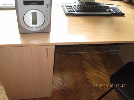 Стол новый большой, удобный для учебы или работы ( компьютер, принтер и т.д.), с. Одесса, Одесская область. фото 4