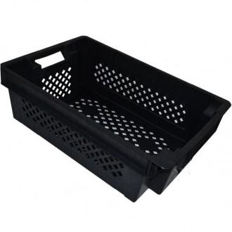 Пластиковые ящики для овощей, фруктов, рыбы купить в Мариуполе shopgid com ua. Верхнеднепровск. фото 1