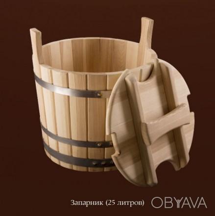 Как видно из названия, это бондарное изделие используется для запаривания банног. Киев, Киевская область. фото 1