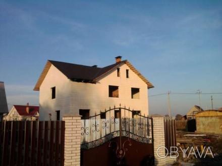 Продается  новый  трехэтажный  дом  350/210/40 м2  в  центре  нового  элитного  . Бориспіль, Бориспіль, Київська область. фото 1