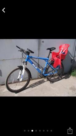 Детское кресло на велосипед. Днепр. фото 1