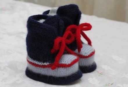 пинетки-кроссовки ручной работы. Одесса. фото 1