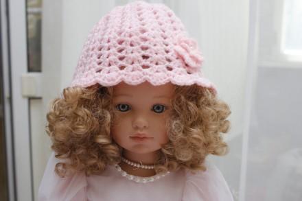 шапочка летняя  возраст 0.6-1.5  розовая, летняя, мятная. Одесса. фото 1