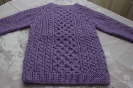 свитер шотландский. ручная вязка. Одесса. фото 1