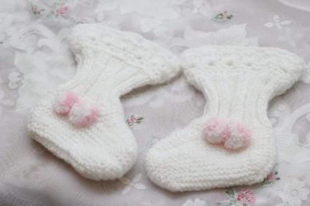 носочки на новорожденных. Одесса. фото 1