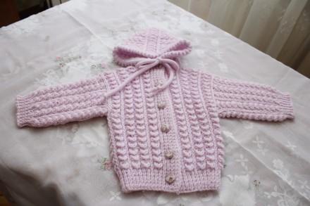 Костюмчики ручная вязка для новорожденных. Одесса. фото 1
