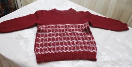 свитер бордовый квадрат. Одесса. фото 1