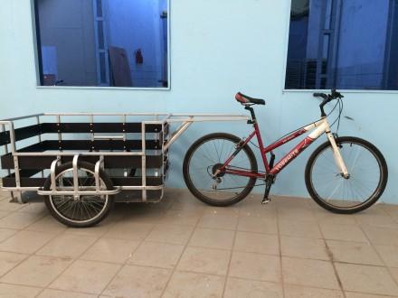 Велоприцеп грузоподъёмностью до 200кг.. Днепр. фото 1