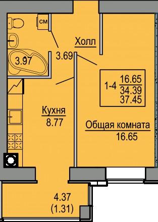 Новая квартира с ремонтом от застройщика Дома введены в эксплуатацию и заселены. Святошино, Київ, Київська область. фото 11