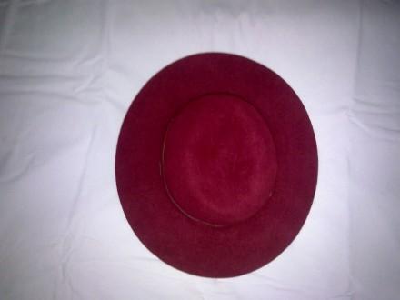 Шляпа жіноча . Фетрова  світло вишневого кольору .Окрім основного призначення мо. Кропивницкий, Кировоградская область. фото 3